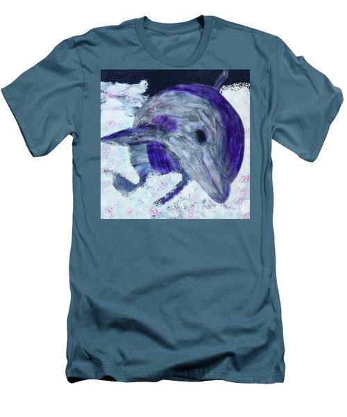 Airborne Men's T-Shirt (Slim Fit) by Donald J Ryker III