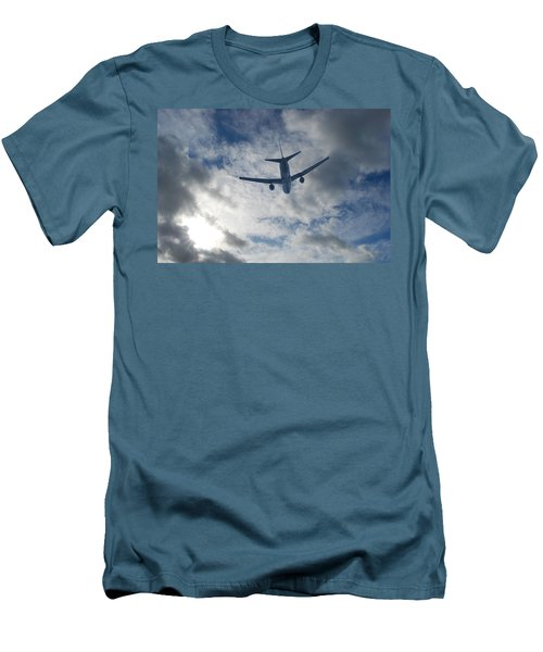 Airliner 01 Men's T-Shirt (Slim Fit) by Mark Alan Perry