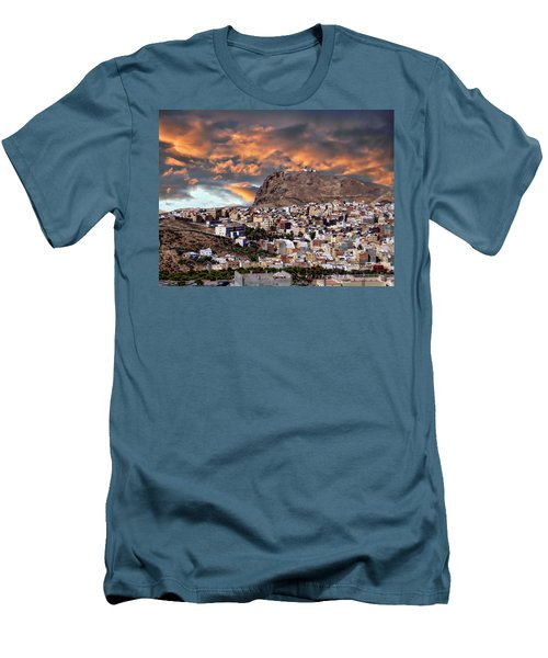 Al Hoceima - Morocco Men's T-Shirt (Slim Fit) by Anthony Dezenzio
