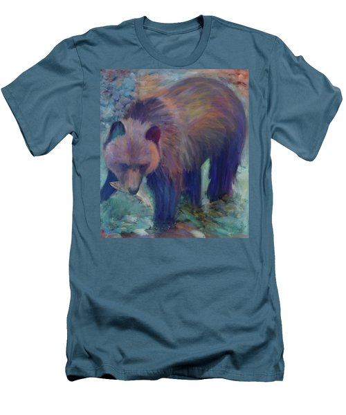 Alaska Bear  Men's T-Shirt (Athletic Fit)