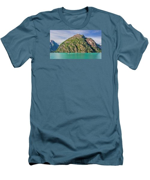 Alaskan Day Cruise Men's T-Shirt (Slim Fit) by Lewis Mann