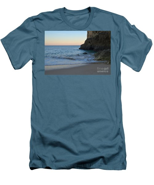 Albandeira Beach Welcoming Twilight 2 Men's T-Shirt (Athletic Fit)