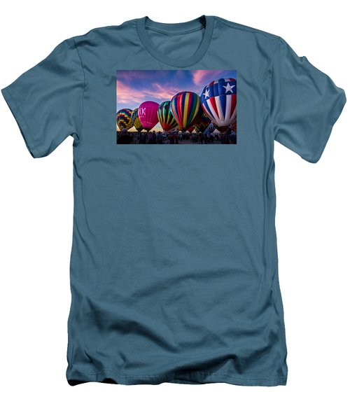 Albuquerque Hot Air Balloon Fiesta Men's T-Shirt (Athletic Fit)