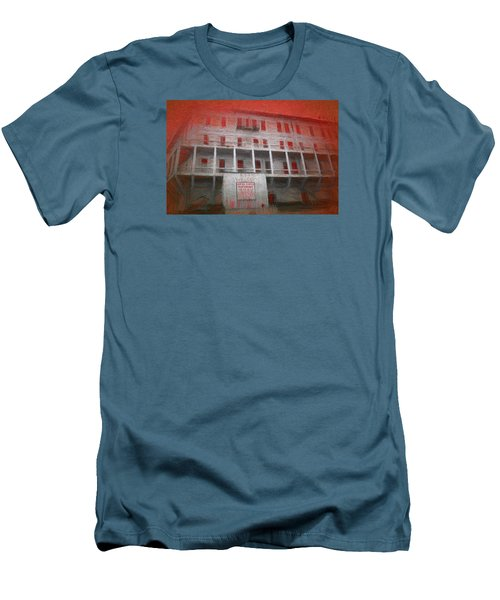 Alcatraz Federal Penitentiary Men's T-Shirt (Athletic Fit)