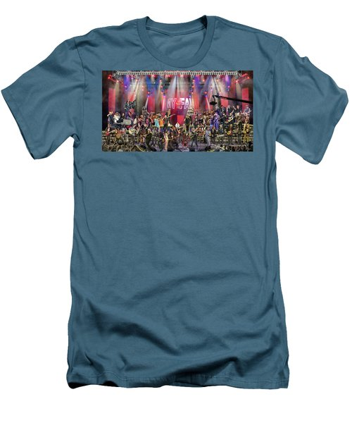 All Star Jam Men's T-Shirt (Slim Fit) by Don Olea