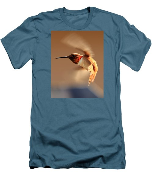 Anna's Hummer - #2 Men's T-Shirt (Athletic Fit)