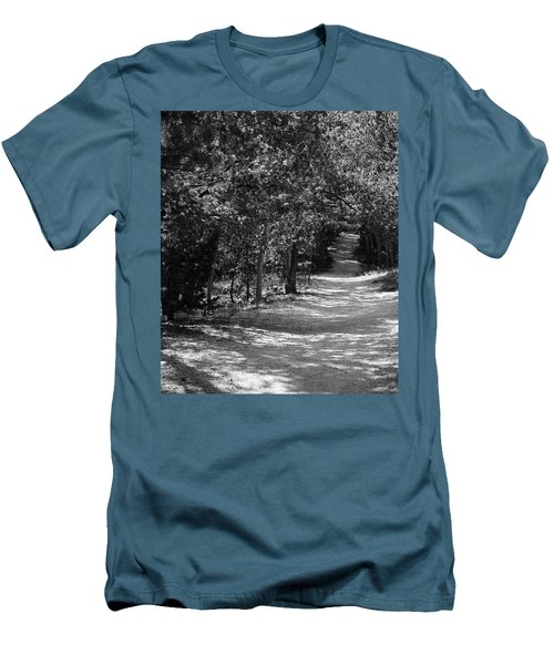 Men's T-Shirt (Slim Fit) featuring the photograph Along The Barr Trail by Christin Brodie
