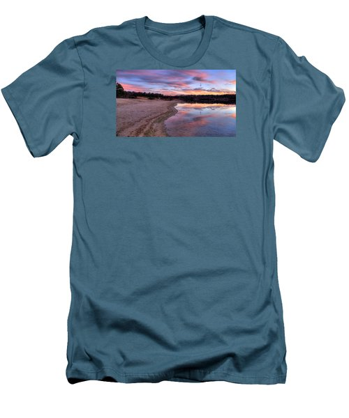 Along The Shoreline Men's T-Shirt (Athletic Fit)