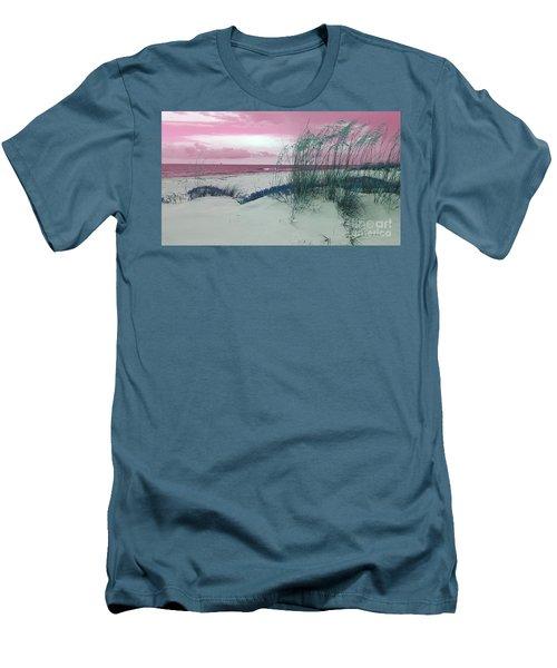Alternate Beachscape  Men's T-Shirt (Slim Fit)