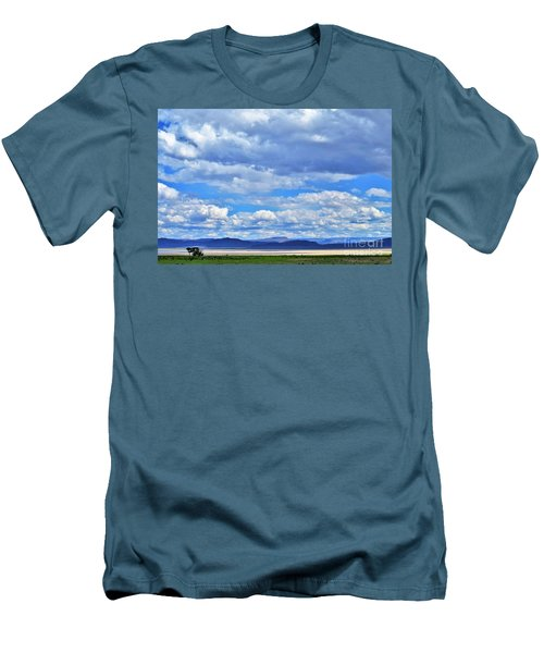 Sky Over Alvord Playa Men's T-Shirt (Athletic Fit)