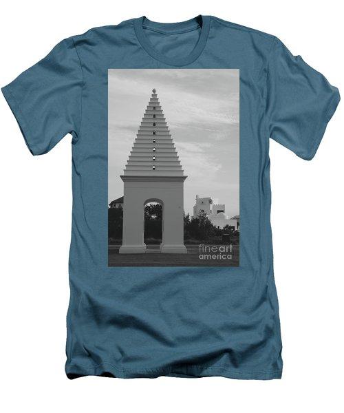 Alys Beach Butteries Men's T-Shirt (Slim Fit) by Megan Cohen