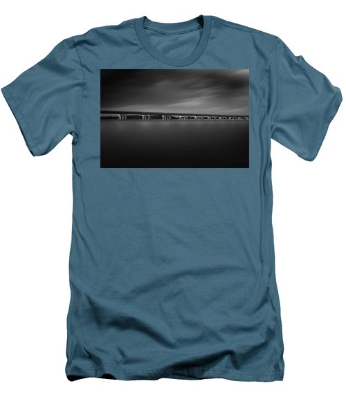 Men's T-Shirt (Athletic Fit) featuring the photograph Amelia Island by Peter Lakomy
