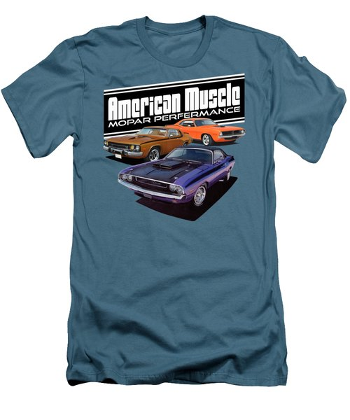 American Mopar Muscle Men's T-Shirt (Athletic Fit)