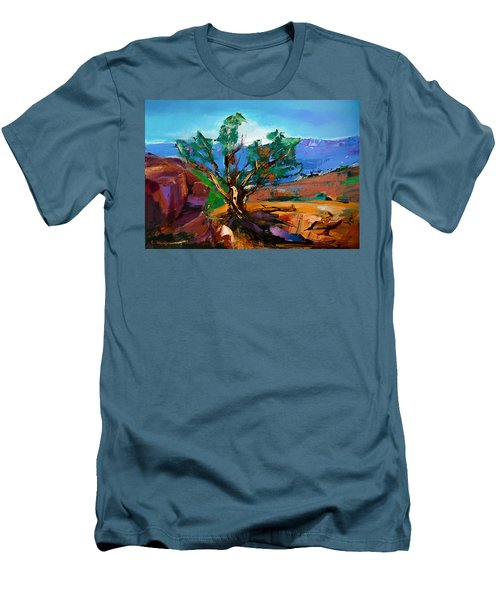 Among The Red Rocks - Sedona Men's T-Shirt (Athletic Fit)