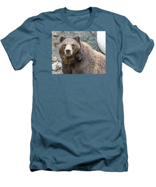 An Eye On You Men's T-Shirt (Slim Fit) by Harold Piskiel