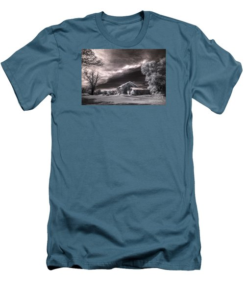 An Ivy Covered Rustic Men's T-Shirt (Athletic Fit)