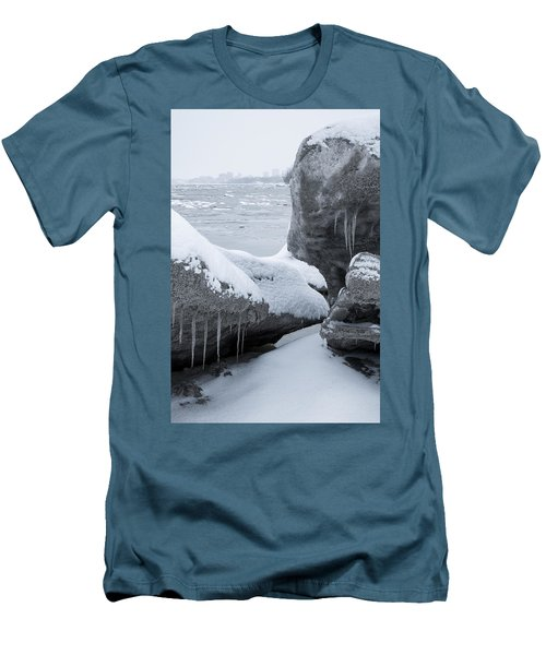 Anchorage In The Icebergs Men's T-Shirt (Athletic Fit)