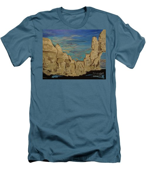Ancient Clouds Men's T-Shirt (Slim Fit) by Stuart Engel