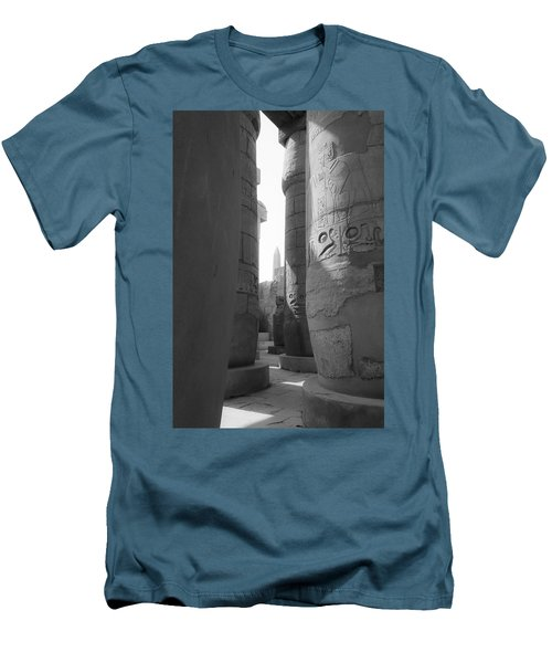 Men's T-Shirt (Athletic Fit) featuring the photograph Ancient Silence by Silvia Bruno