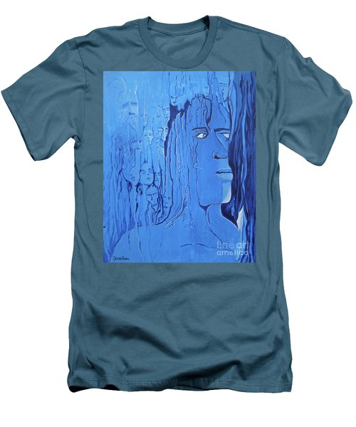 And If You Feel Men's T-Shirt (Slim Fit) by Stuart Engel
