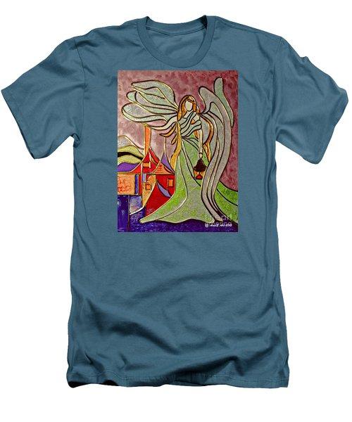 Angel  Men's T-Shirt (Slim Fit)