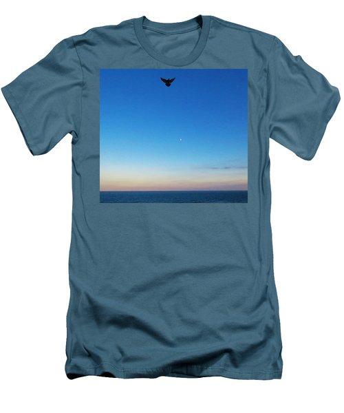 Angel Bird Men's T-Shirt (Slim Fit) by Kathy Long