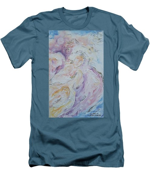 Angel Of Messages Men's T-Shirt (Athletic Fit)