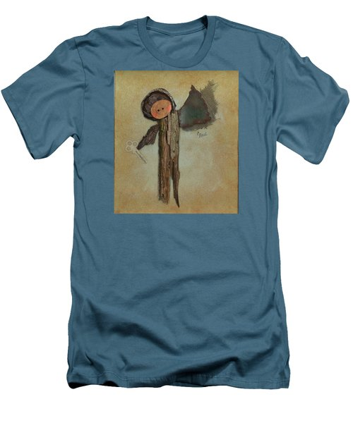 Angel Of The Ages Men's T-Shirt (Athletic Fit)