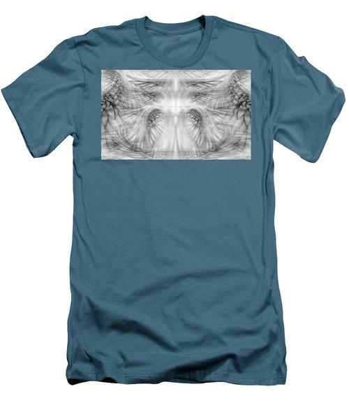 Angel Wings Pattern Men's T-Shirt (Slim Fit) by James Larkin