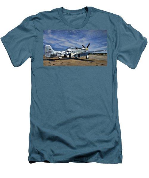 Angels Playmate  Men's T-Shirt (Athletic Fit)