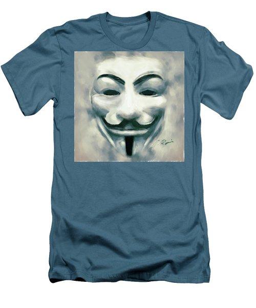 Anonymous Men's T-Shirt (Athletic Fit)