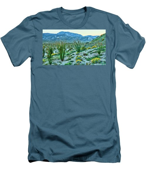 Anza Borrego Twillight Men's T-Shirt (Athletic Fit)
