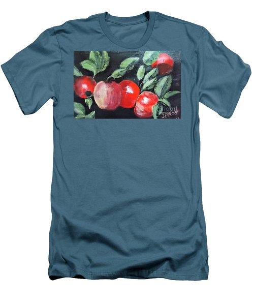 Apple Bunch Men's T-Shirt (Athletic Fit)