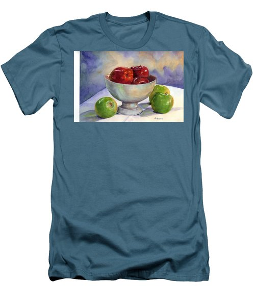 Apples - Yum Men's T-Shirt (Athletic Fit)