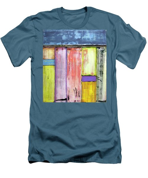 Art Print Abstract 47 Men's T-Shirt (Athletic Fit)