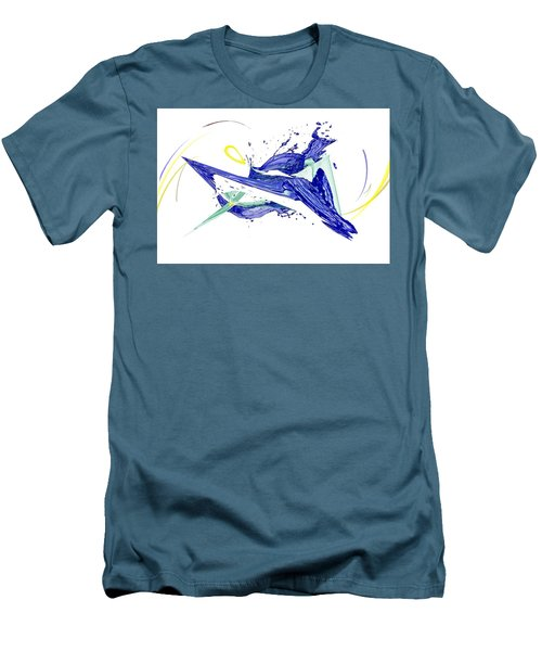 Art_0015 Men's T-Shirt (Athletic Fit)