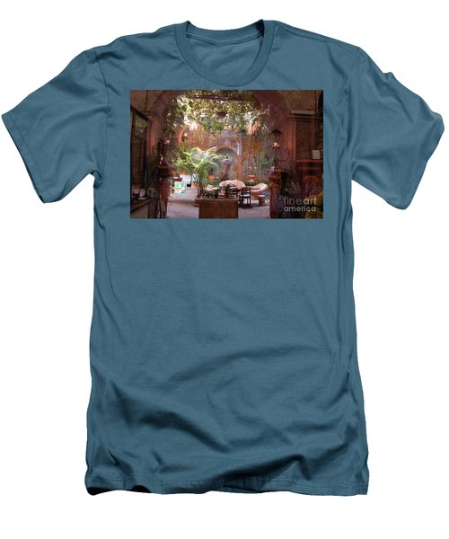 Artists' Studio In Sorrento Italy  Men's T-Shirt (Athletic Fit)