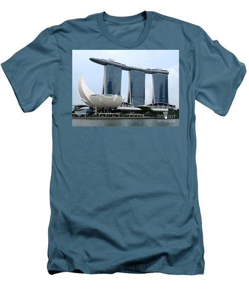Artscience 5 Men's T-Shirt (Slim Fit) by Randall Weidner
