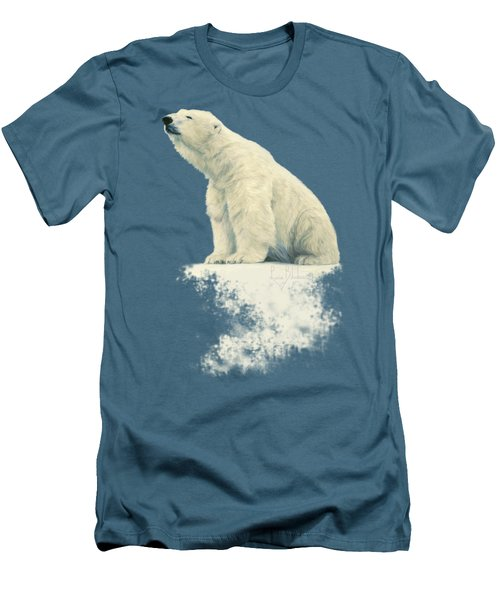 Something In The Air Men's T-Shirt (Slim Fit) by Lucie Bilodeau