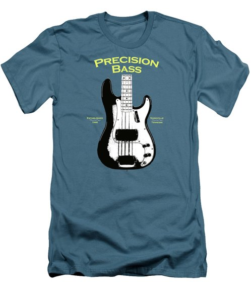 Fender Precision Bass 58 Men's T-Shirt (Slim Fit) by Mark Rogan