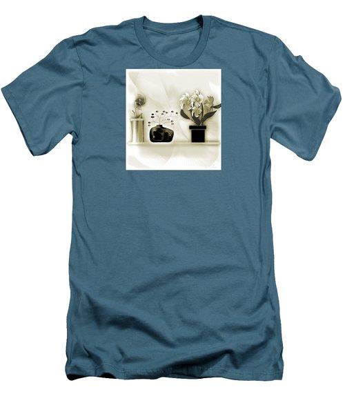 Vase 3 Men's T-Shirt (Slim Fit) by Iris Gelbart