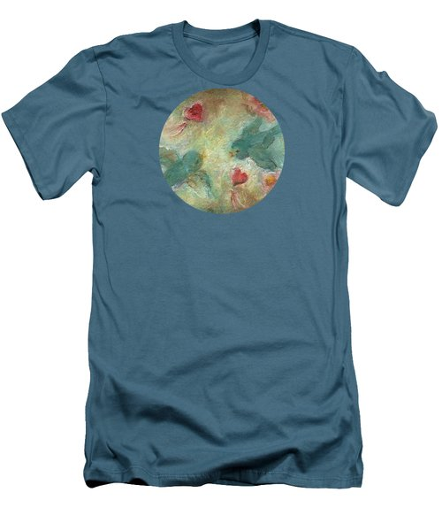 Lovebirds Men's T-Shirt (Slim Fit) by Mary Wolf