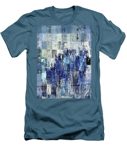 Men's T-Shirt (Slim Fit) featuring the digital art Ascension - C03xt-160at2c by Variance Collections