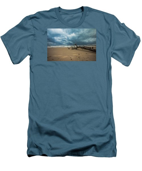 Ashdod Seascape Men's T-Shirt (Athletic Fit)