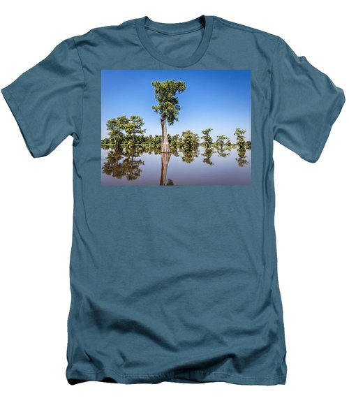 Atchafalaya Cypress Tree Men's T-Shirt (Athletic Fit)