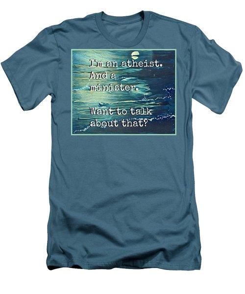 Atheist T Shirt Men's T-Shirt (Athletic Fit)