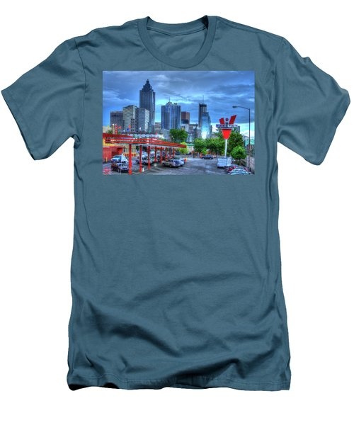 Atlanta Landmark The Varsity Art Men's T-Shirt (Athletic Fit)