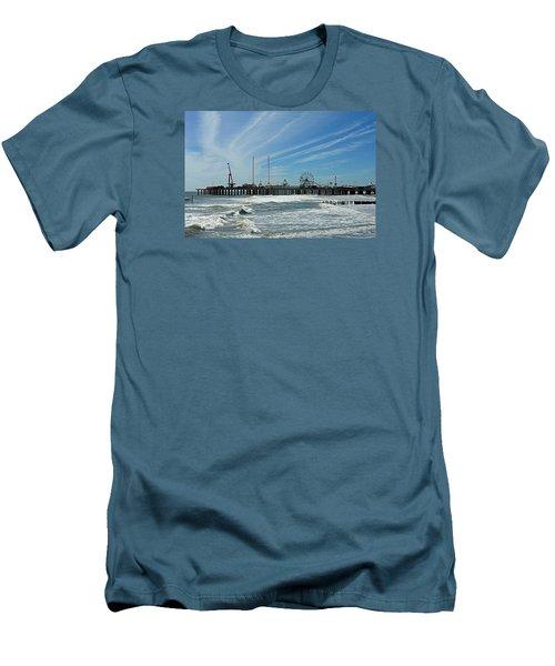 Atlantic City, New Jersey Men's T-Shirt (Slim Fit) by Allen Beilschmidt
