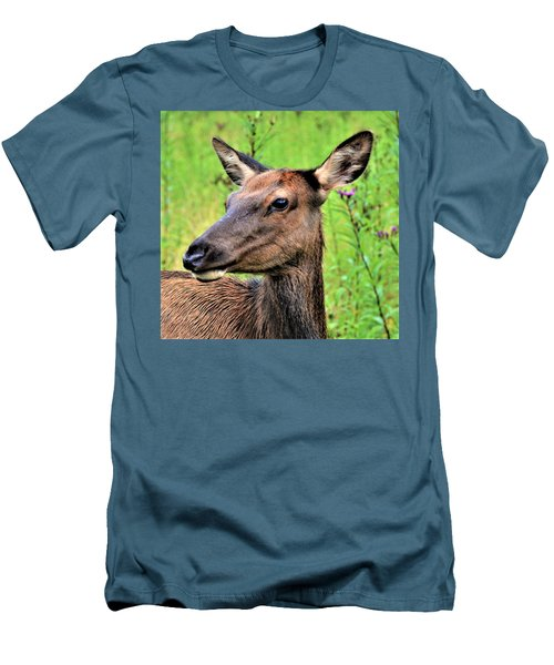 Attentive Yearling Men's T-Shirt (Athletic Fit)