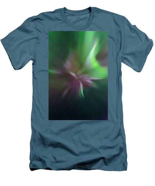 Aurora Borealis Corona Men's T-Shirt (Athletic Fit)
